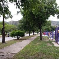Photo taken at Parque El Ejército by Pedro M. on 7/20/2014