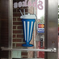 Photo taken at Cannon Ball Malt Shop by Andrew A. on 5/11/2013