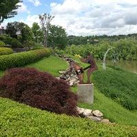 Photo taken at Bluff View Art District by Tori M. on 5/5/2013