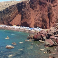 Photo taken at Red Beach by Olli K. on 7/5/2013