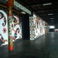 Photo taken at Rumah Adat Betang by Richie on 4/4/2013