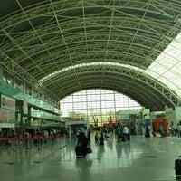 Photo taken at İzmir Adnan Menderes Airport (ADB) by Ekrem P. on 9/16/2013