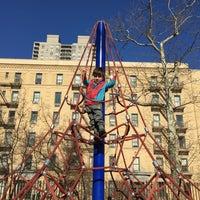 Photo taken at John Jay Playground by stephanie on 2/2/2016