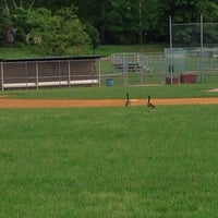 Photo taken at Memorial Field by Mike M. on 5/26/2014