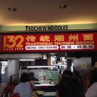 Photo taken at 132 Traditional Teochew Noodle by Paul M. on 12/8/2013