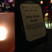 Photo taken at Whispers Bar & Grill by Sunny T. on 3/4/2013