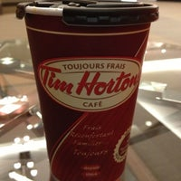 Photo taken at Tim Hortons by Frank B. on 10/11/2012