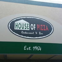 Photo taken at House of Pizza by Jarrod S. on 10/28/2013