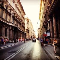 Photo taken at Via del Corso by Bryan D. on 9/2/2013