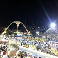 Photo taken at Sambódromo by Marcel C. on 2/12/2013