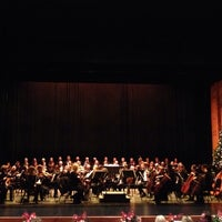 Photo taken at Vilar Performing Arts Center by Charles T. on 12/22/2013