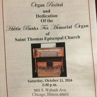 Photo taken at St. Thomas Episcopal Church by Alexis S. on 10/11/2014