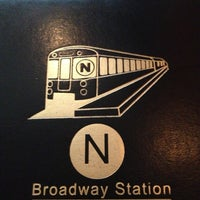 Photo taken at Broadway Station by Colleen C. on 3/9/2013