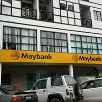 Photo taken at Maybank by Nadzmi A. on 1/19/2014