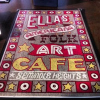 Photo taken at Ella's Americana Folk Art Cafe by Josh G. on 2/19/2013