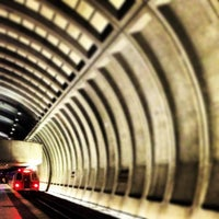 Photo taken at Friendship Heights Metro Station by Danny A. on 1/26/2013