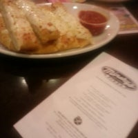 Photo taken at Minsky's Pizza by Amber P. on 1/24/2013