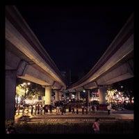 Photo taken at MRT Zhishan Station by Ichiro W. on 10/19/2013
