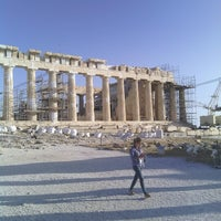 Photo taken at Acropolis of Athens by Burcin T. on 5/23/2013