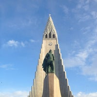 Photo taken at Church of Hallgrímur by Saul C. on 3/28/2013