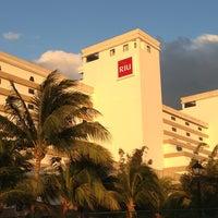 Photo taken at RIU Caribe by Shei L. on 3/28/2013