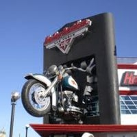 Photo taken at Harley-Davidson Cafe by Bob P. on 1/27/2013