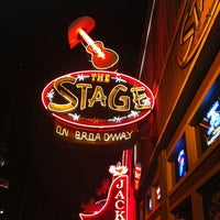 Photo taken at The Stage on Broadway by Ashley S. on 4/2/2013