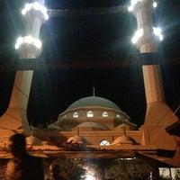 Photo taken at Gündoğan Merkez Camii by Selim S. on 8/3/2013