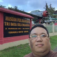 Photo taken at MUSEUM PERJUANGAN TRI DAYA EKA DHARMA by Youtie M. on 1/23/2016