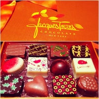 Photo taken at Jacques Torres Chocolate by alba on 12/23/2012