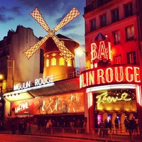 Photo taken at Moulin Rouge by Chenchik A. on 4/19/2013