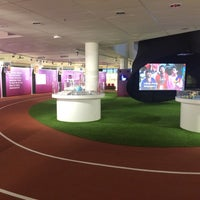 Photo taken at Singapore Sports Museum by Fanni L. on 5/16/2015