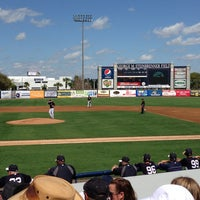 Photo taken at George M. Steinbrenner Field by Bobby T. on 2/28/2013