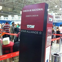 Photo taken at TAM Check-in by Guilherme B. on 2/24/2013