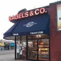 Photo taken at Bagels & Co. by Mitch S. on 12/31/2013