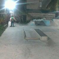 Photo taken at AB Skatepark by Matt M. on 1/20/2013