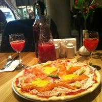 Photo taken at Pizza Express by Anna N. on 1/21/2013