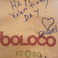 Photo taken at Boloco by Tim M. on 2/14/2013