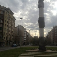 Photo taken at Avinguda de Josep Tarradellas by Евгений Ф. on 1/27/2013