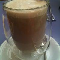 Photo taken at Casba Cafe by Jane V. on 12/22/2012