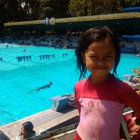 Photo taken at Karang Setra Swimming Pool by gina n. on 8/10/2014