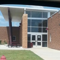 Photo taken at Blanchard High School by Stephanie D. on 8/23/2013