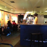 Photo taken at Pom Pom's Teahouse & Sandwicheria by Larry N. on 1/10/2013