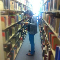 Photo taken at Albert S. Cook Library by Nathan S. on 5/1/2013