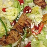 Photo taken at Cart Salad aka Chicken Kabob In DTX by Greg B. on 1/10/2013