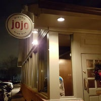 Photo taken at JoJo Bistro & Wine Bar by Mary S. on 12/8/2015