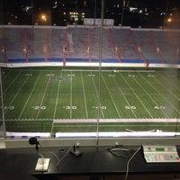 Photo taken at War Memorial Stadium / AT&T Field by Joshua C. on 11/7/2013