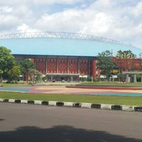 Photo taken at jakabaring by Ahmad B. on 2/16/2013