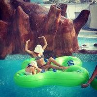 Photo taken at Aquapark Aquamania by Andreea S. on 8/1/2014