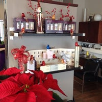 Photo taken at hair beauty salon by Peter C. on 12/12/2013